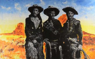 Tres Amigos en el Desierto by Jerry Blank