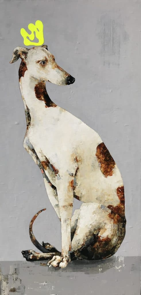 Greyhound by Constance Bachmann