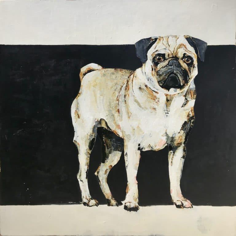Pug by Constance Bachmann
