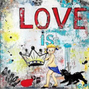 Love Is King by artist Rocky Asbury