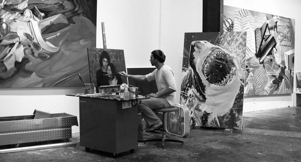 Benjamin Anderson in studion